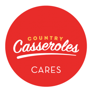 For every 9 meals our customers donate, Country Casseroles will donate an additional meal.
